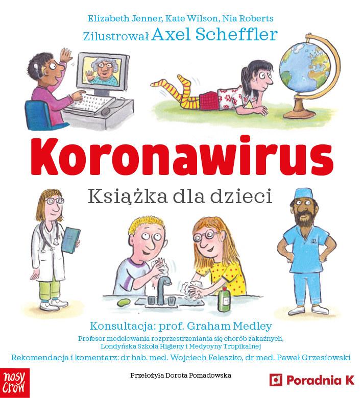 Koronawirus. Książka dla dzieci /INTERIA.PL/materiały prasowe