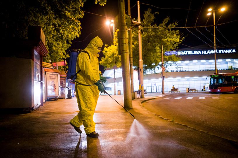 Koronawirus na Słowacji /AFP