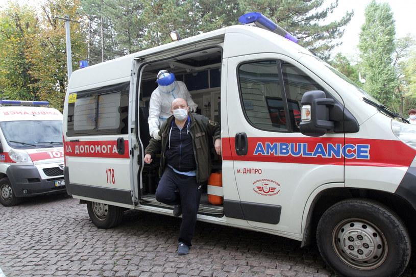 Koronawirus na Ukrainie, zdjęcie ilustracyjne /Ukrinform/East News /East News