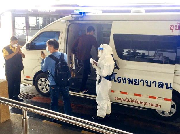 Koronawirus pojawił się w Tajlandii w szczycie sezonu turystycznego /CHIANG MAI PUBLIC HEALTH OFFICE HANDOUT /PAP/EPA