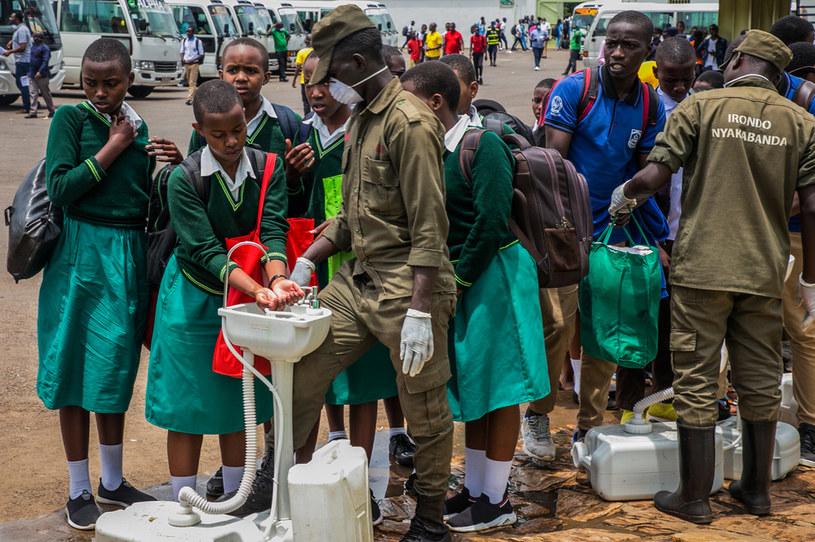 Koronawirus w Afryce /STRINGER /AFP