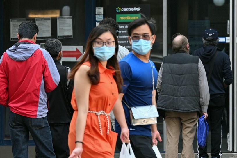 Koronawirus w Australii /AFP