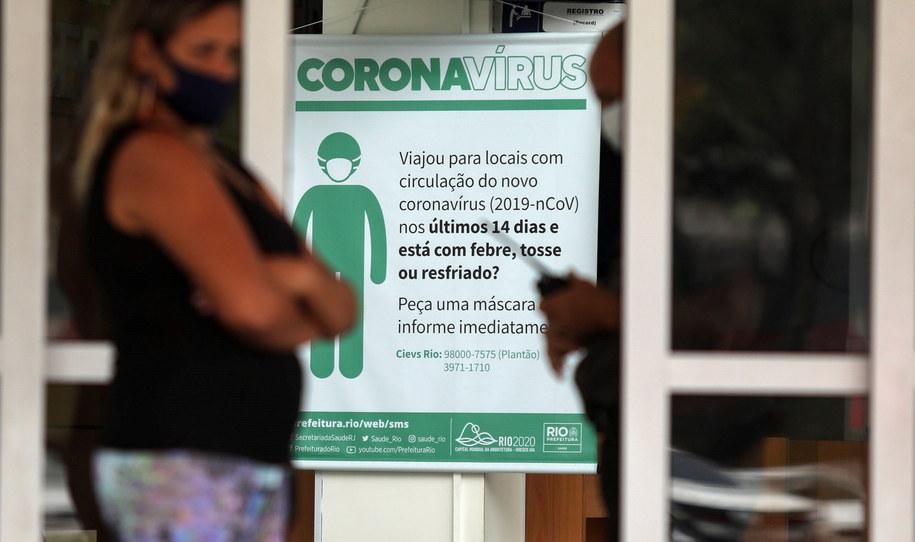 Koronawirus w Brazylii /FABIO MOTTA /PAP/EPA