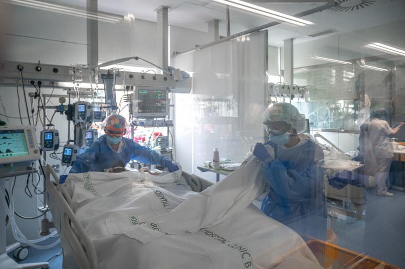 Koronawirus w Hiszpanii /SOPA Images /Getty Images