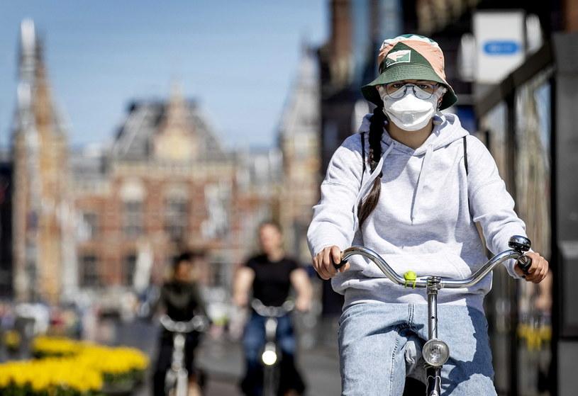 Koronawirus w Holandii /KOEN VAN WEEL /PAP