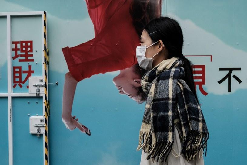 Koronawirus w Hongkongu /AFP