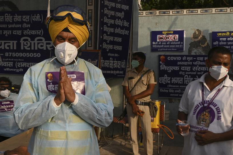 Koronawirus w Indiach; zdj. ilustracyjne /AFP