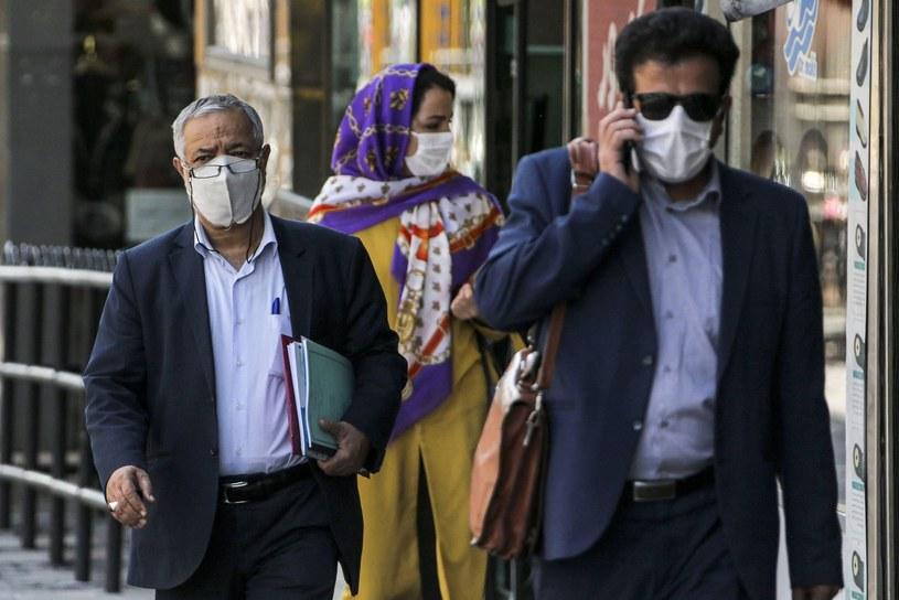 Koronawirus w Iranie /AFP