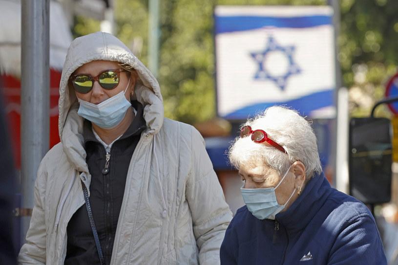 Koronawirus w Izraelu /AFP