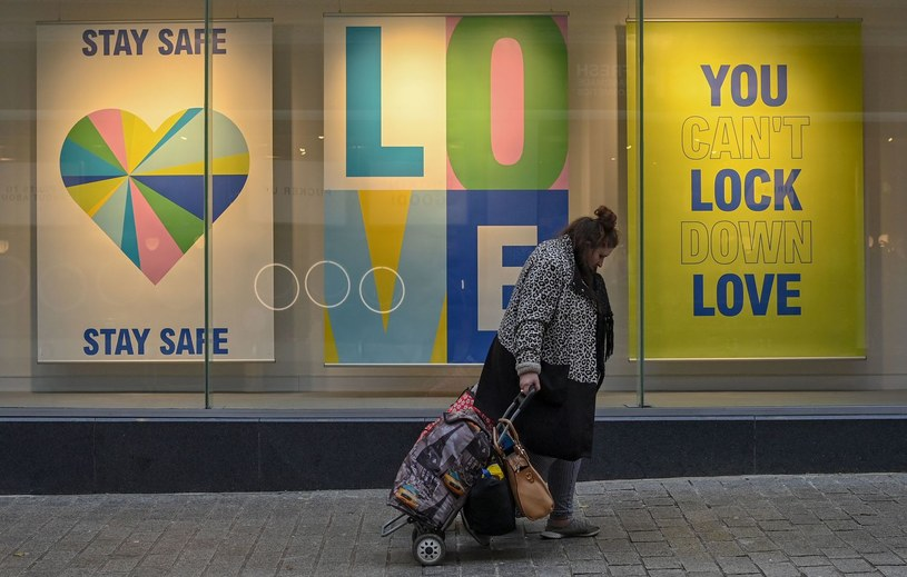 Koronawirus w Liverpoolu /PAUL ELLIS /AFP