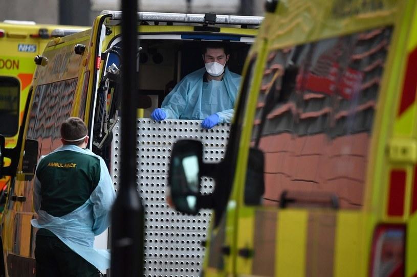 Koronawirus w Londynie, zdj. ilustracyjne /AFP