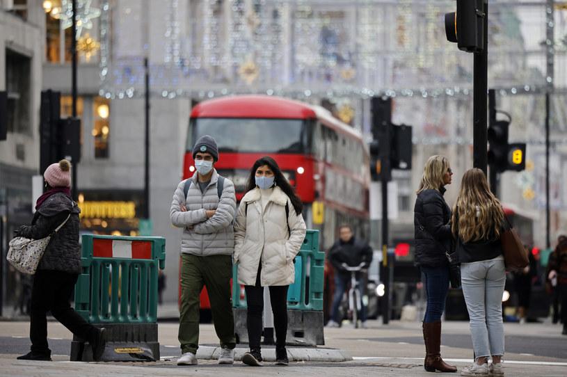 Koronawirus w Londynie /AFP