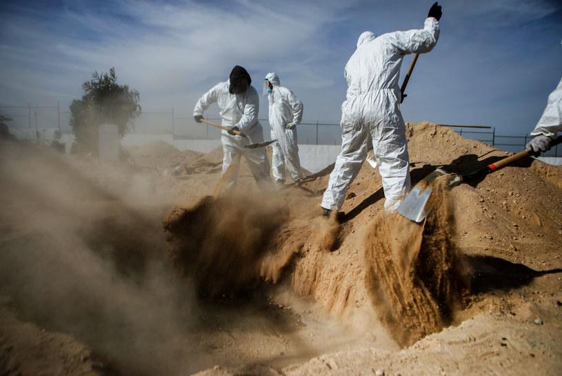 Koronawirus w Meksyku /Mario Tama /Getty Images