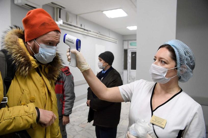 Koronawirus w Moskwie. Sytuacja jest coraz gorsza. /AFP