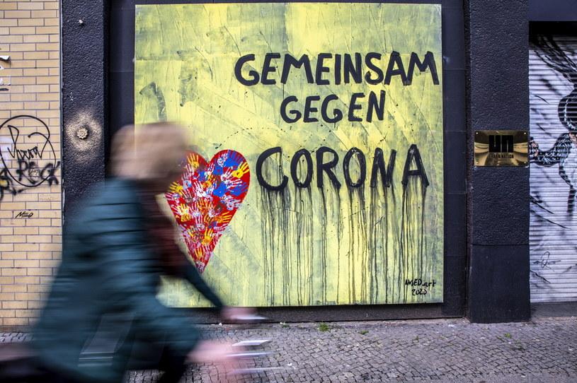 Koronawirus w Niemczech /OMER MESSINGER  /PAP
