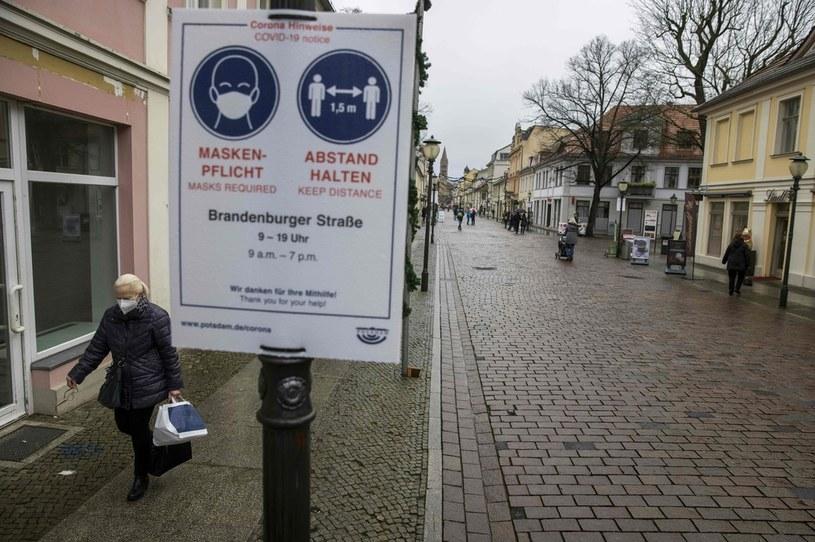 Koronawirus w Niemczech /ODD ANDERSEN /AFP