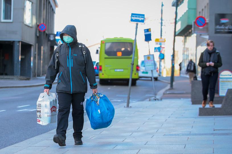 Koronawirus w Norwegii, na zdjęciu: Mieszkańcy Oslo /NTB SCANPIX/Reuters /Agencja FORUM