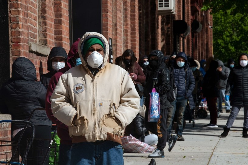 Koronawirus w Nowym Jorku /AFP