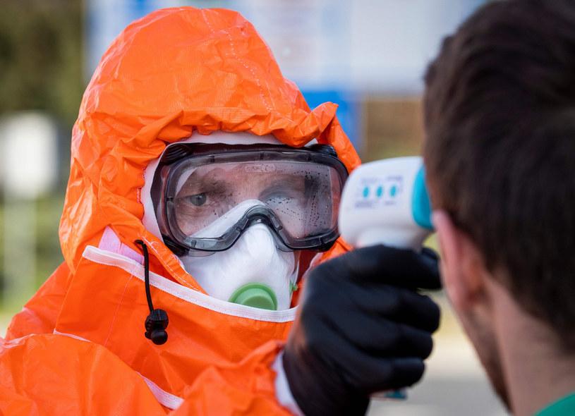 Koronawirus w Poisce /ODD ANDERSEN/AFP/ /East News