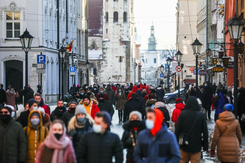 Koronawirus w Polsce. Kraków, Stare Miasto /REPORTER /Reporter