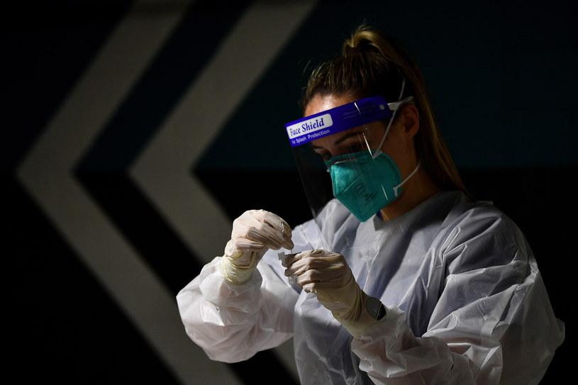 Koronawirus w Polsce. Najnowsze dane o stanie epidemii /JOEL CARRETT    /PAP/EPA