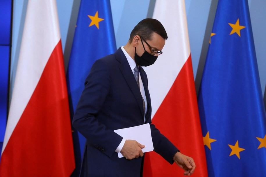 Koronawirus w Polsce. Premier Mateusz Morawiecki został objęty kwarantanną /Rafał Guz /PAP