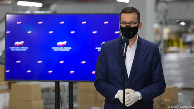 Koronawirus w Polsce. Premier ogłosił plan masowych szczepień Polaków