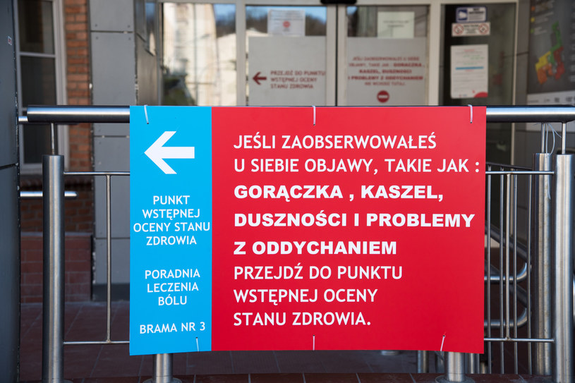 Koronawirus w Polsce. Szpitale powiatowe borykają się z dużymi problemami w zaopatrzeniu /Wojciech Strozyk/REPORTER /East News