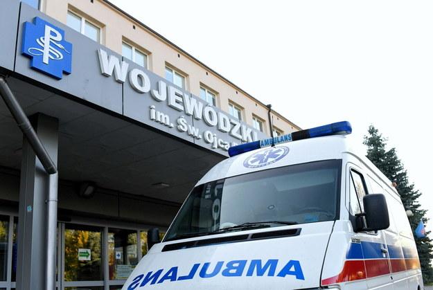 Koronawirus w Polsce. Wojewódzki Szpital w Przemyślu /Darek Delmanowicz /PAP/EPA