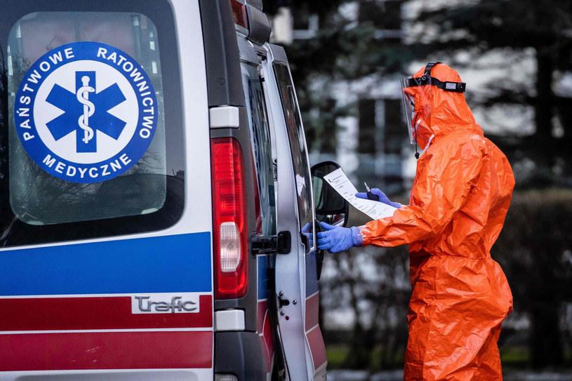 Koronawirus w Polsce /WOJTEK RADWANSKI / AFP /East News