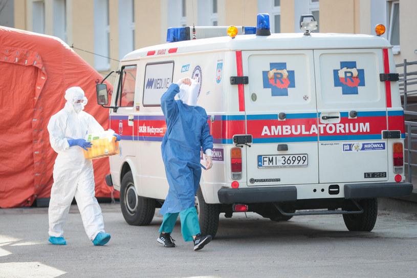 Koronawirus w Polsce /Fot. Piotr Jedzura /Reporter
