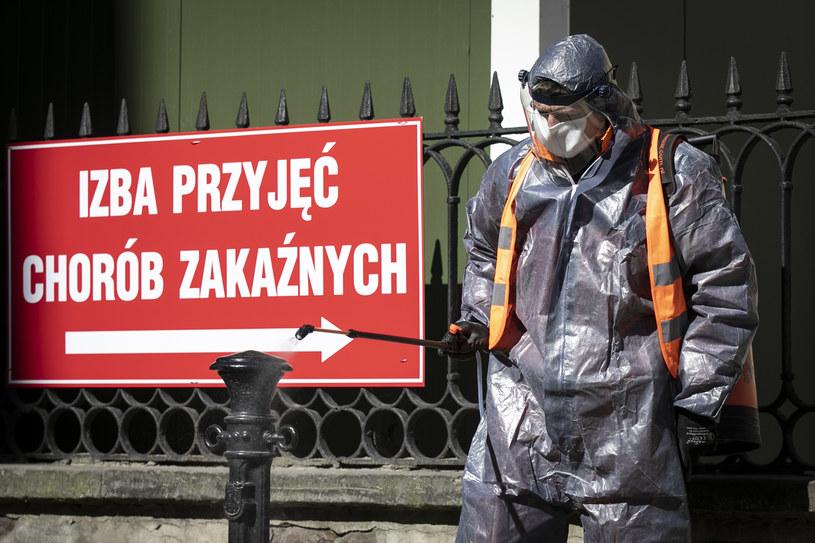 Koronawirus w Polsce /Jacek Szydłowski /Agencja FORUM