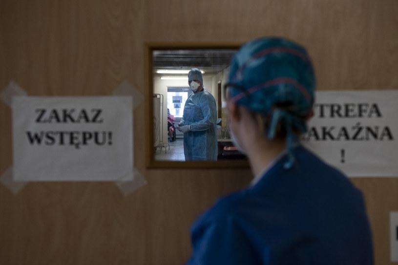 Koronawirus w Polsce /Filip Blazejowski /Agencja FORUM