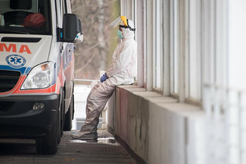 Koronawirus w Polsce /Wojciech Strozyk/REPORTER /Reporter
