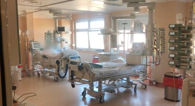Koronawirus w Polsce /Autor: Mateusz Iżakowski/Szpital Wojewódzki w Szczecinie /