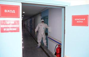 Koronawirus w Rosji: W obwodzie moskiewskim do szpitali trafia 600-750 zakażonych dziennie