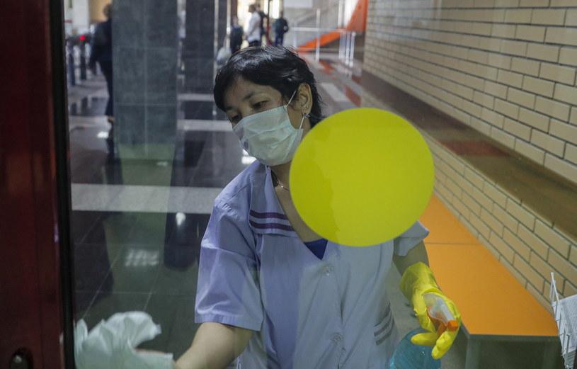 Koronawirus w Rosji /Sergei Ilnitsky /PAP/EPA