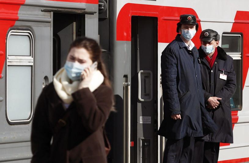 Koronawirus w Rosji /MAXIM SHIPENKOV    /PAP/EPA