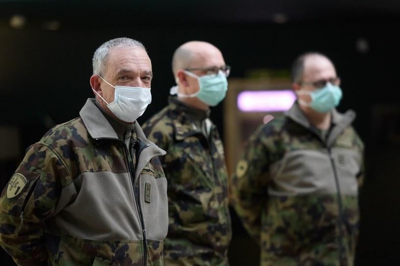 Koronawirus w Szwajcarii /AFP