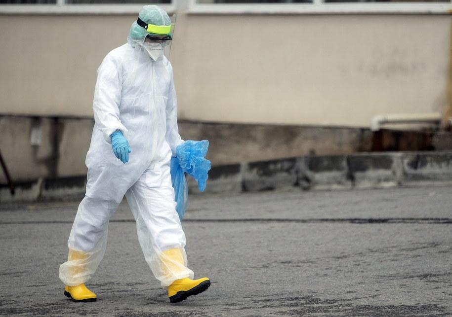 Koronawirus w Turcji /ERDEM SAHIN /PAP/EPA