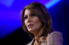 Koronawirus w USA: Melania Trump wygłosiła orędzie