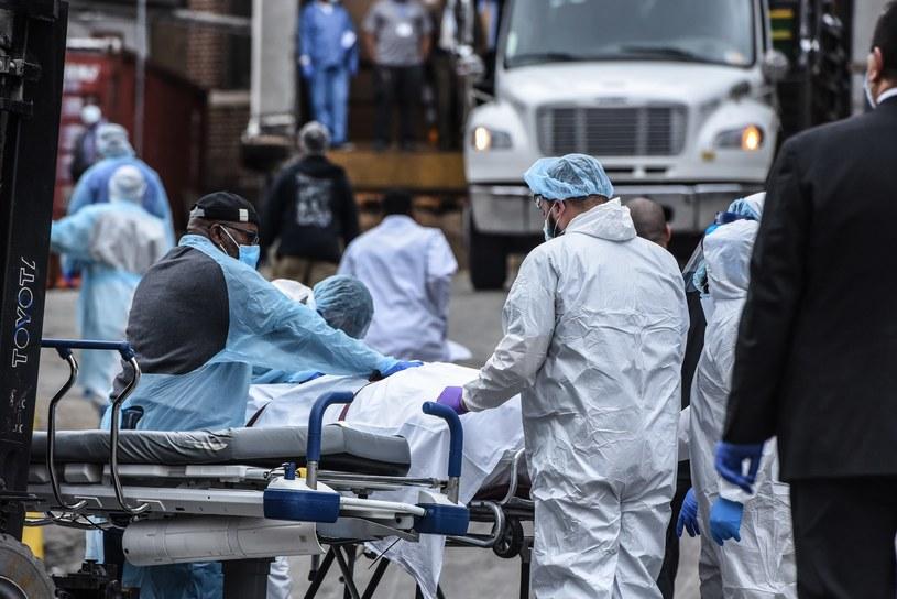 Koronawirus w USA /AFP