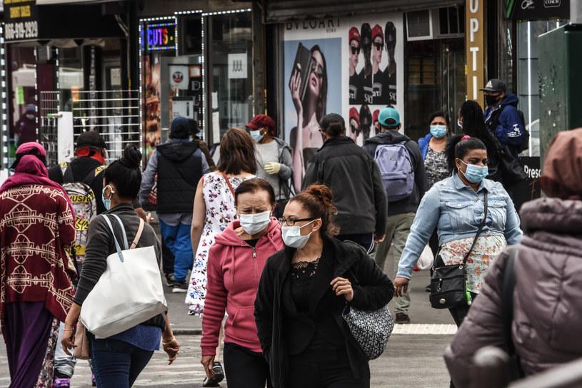 Koronawirus w USA /STEPHANIE KEITH / GETTY IMAGES NORTH AMERICA / GETTY IMAGES VIA AFP /AFP