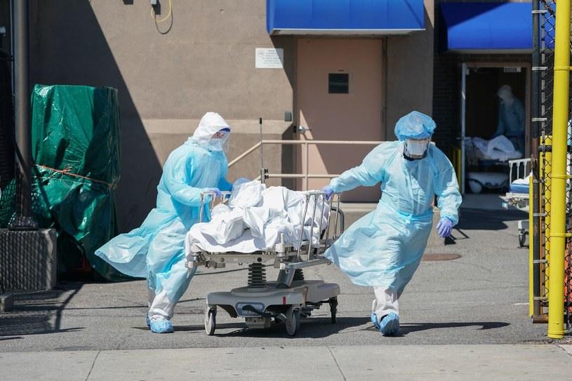Koronawirus w USA /AFP BRYAN R. SMITH /AFP