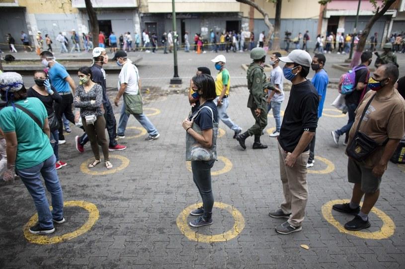 Koronawirus w Wenezueli, zdj. ilustracyjne /Leonardo Fernandez Viloria /Getty Images