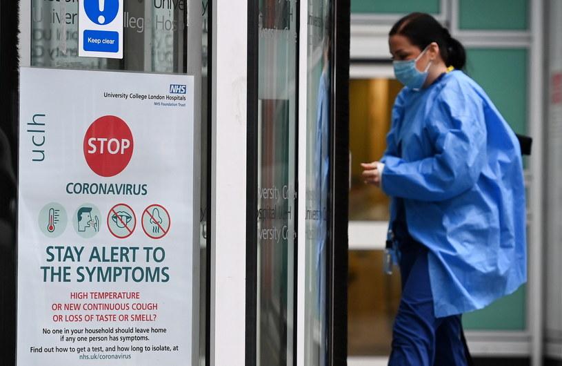 Koronawirus w Wielkiej Brytanii / ANDY RAIN    /PAP