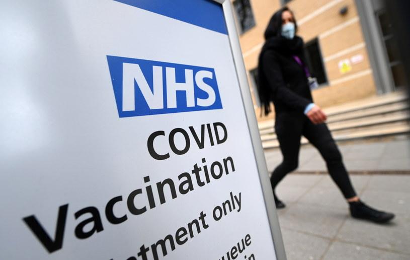 Koronawirus w Wielkiej Brytanii / ANDY RAIN    /PAP/EPA