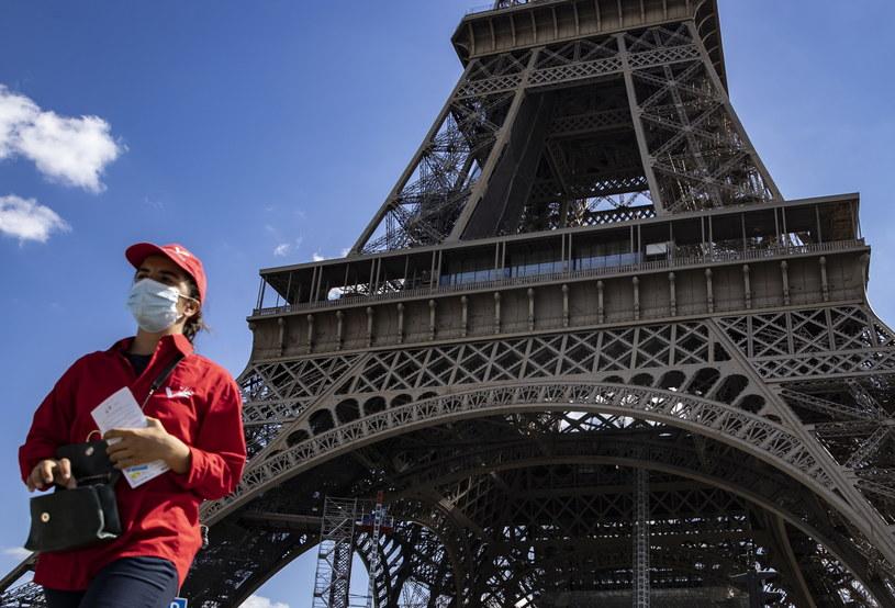 Koronawirus we Francji, zdjęcie ilustracyjne /IAN LANGSDON /PAP/EPA