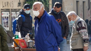 Koronawirus we Włoszech. Blisko 11 tys. nowych przypadków, najwięcej od początku epidemii