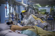 Koronawirus we Włoszech. Na intensywnej terapii niemal sami niezaszczepieni